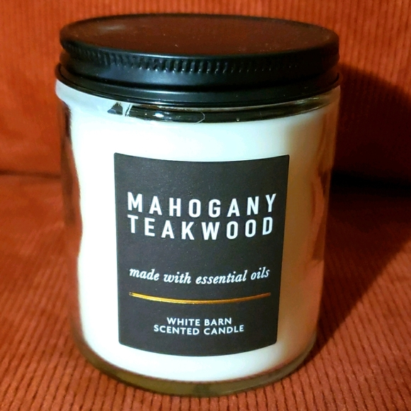 Bath & Bodyworks Mahogany Teakwood 1-wick Candle